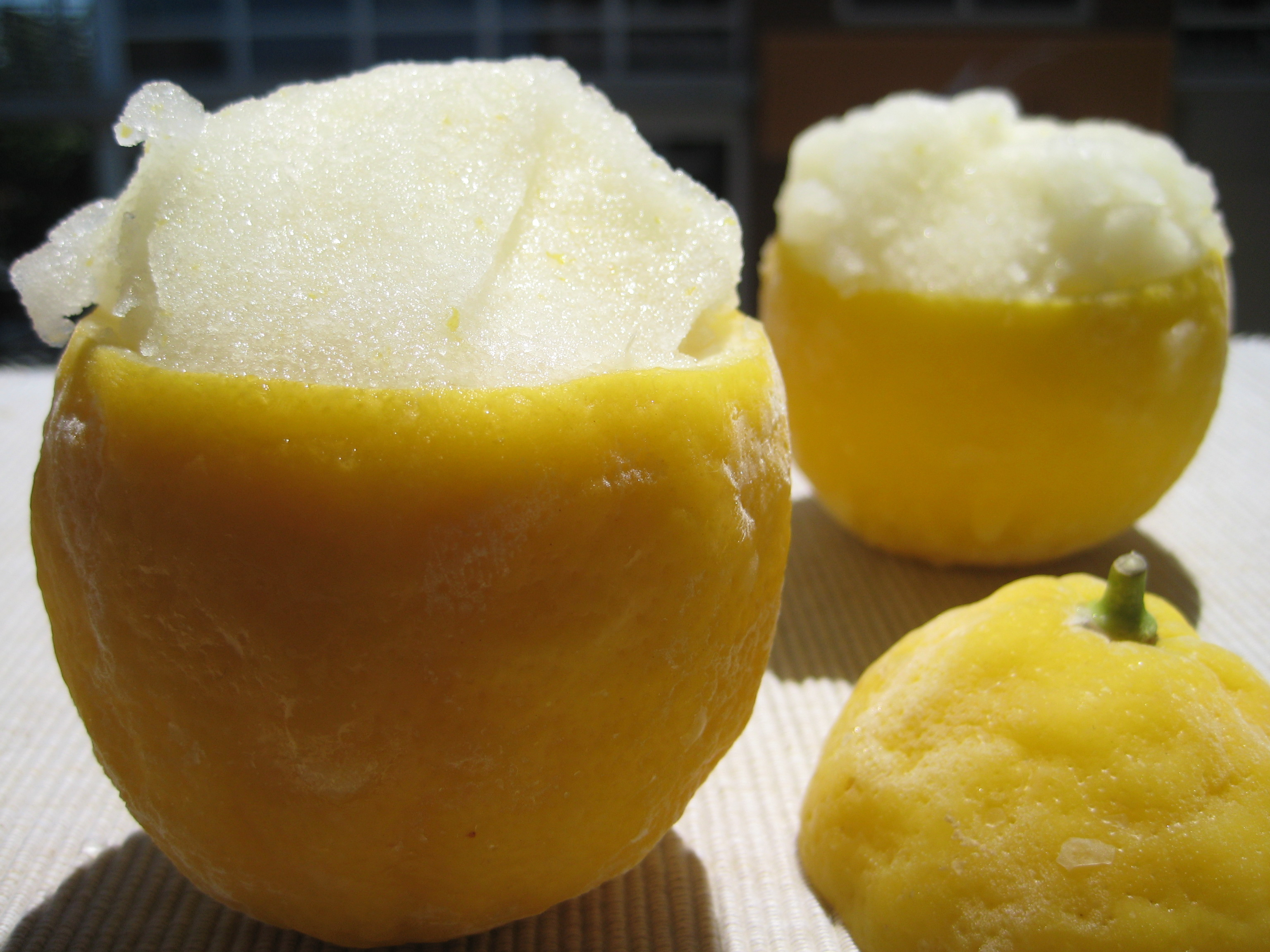 Lemon Italian Ice |