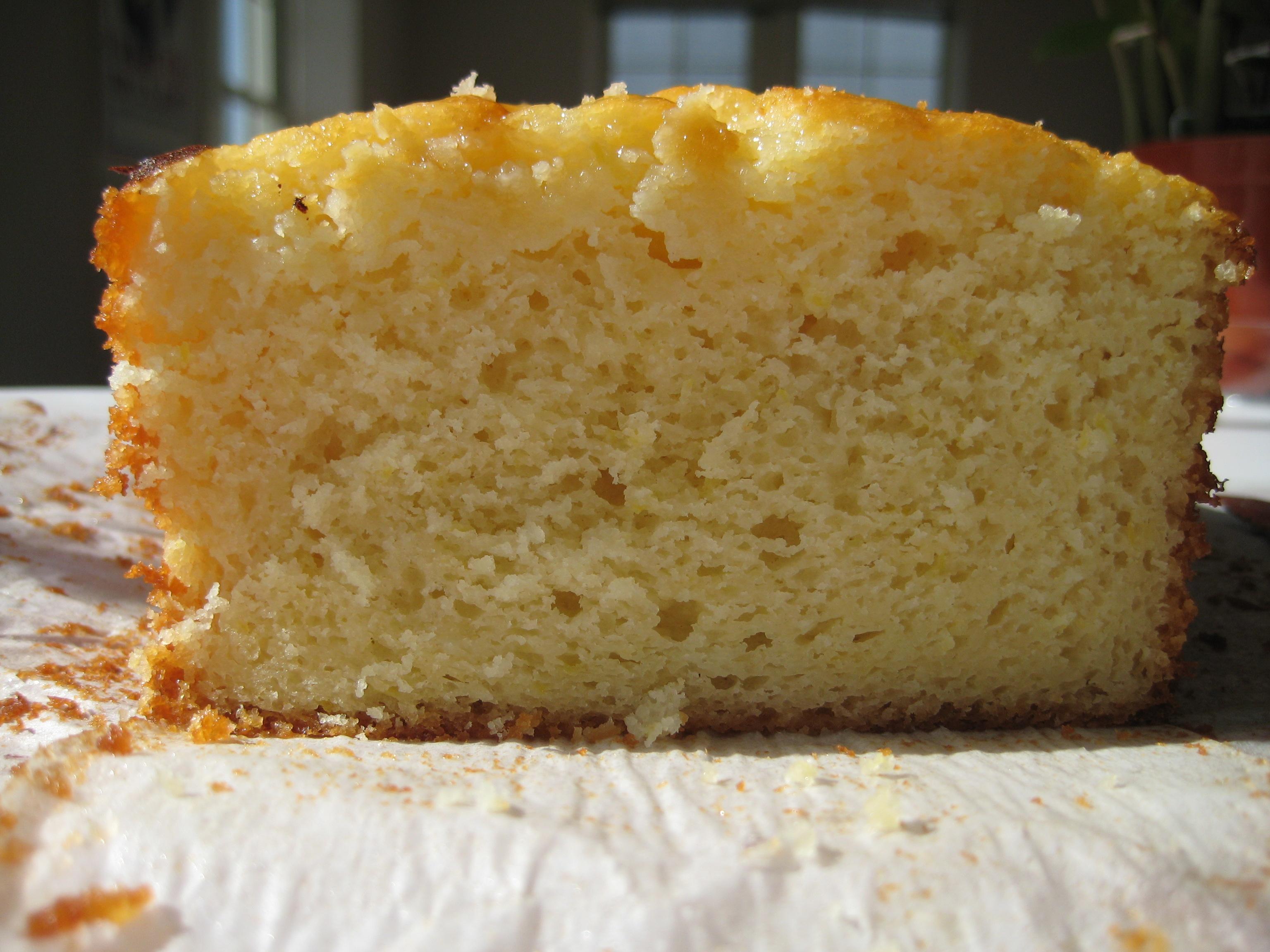 Lemon Yogurt Cake |