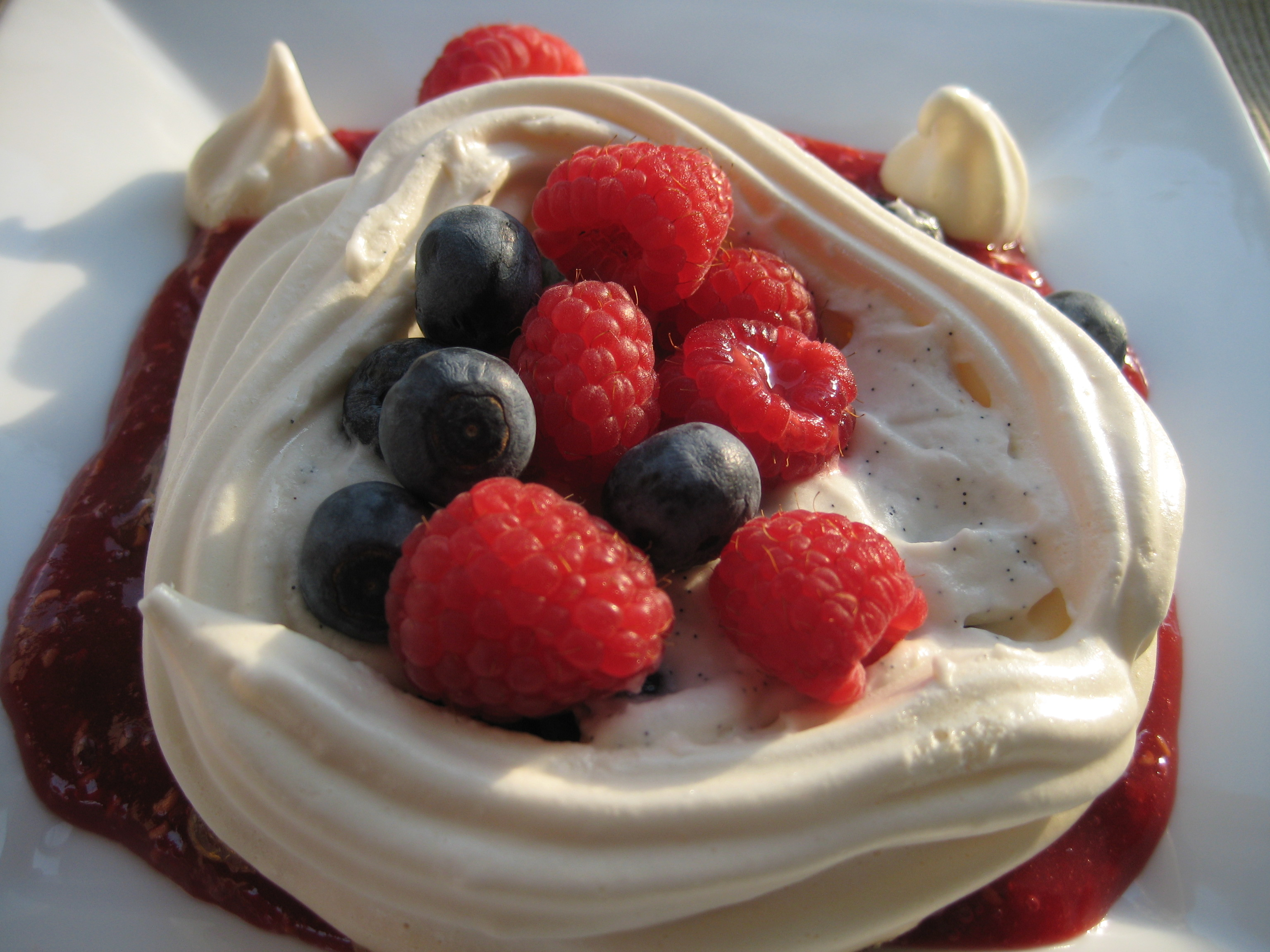 Meringues Chantilly