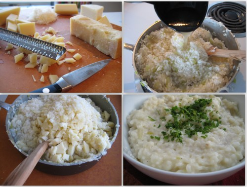 three-cheese-risotto-collage