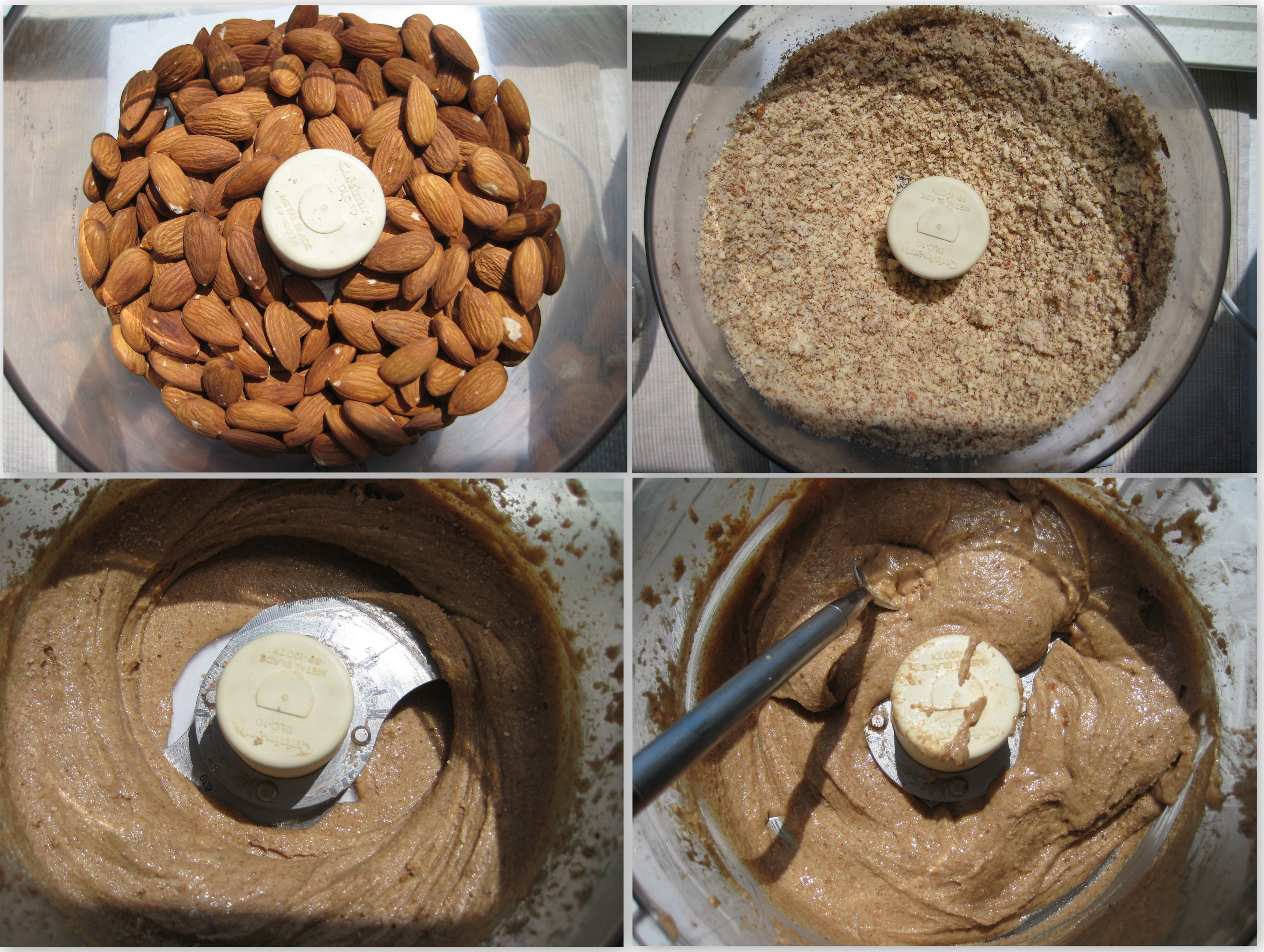 almond butter collage