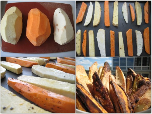 Sweet Potato Yam Collage