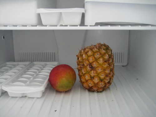 Frozen Mango and Pineapple
