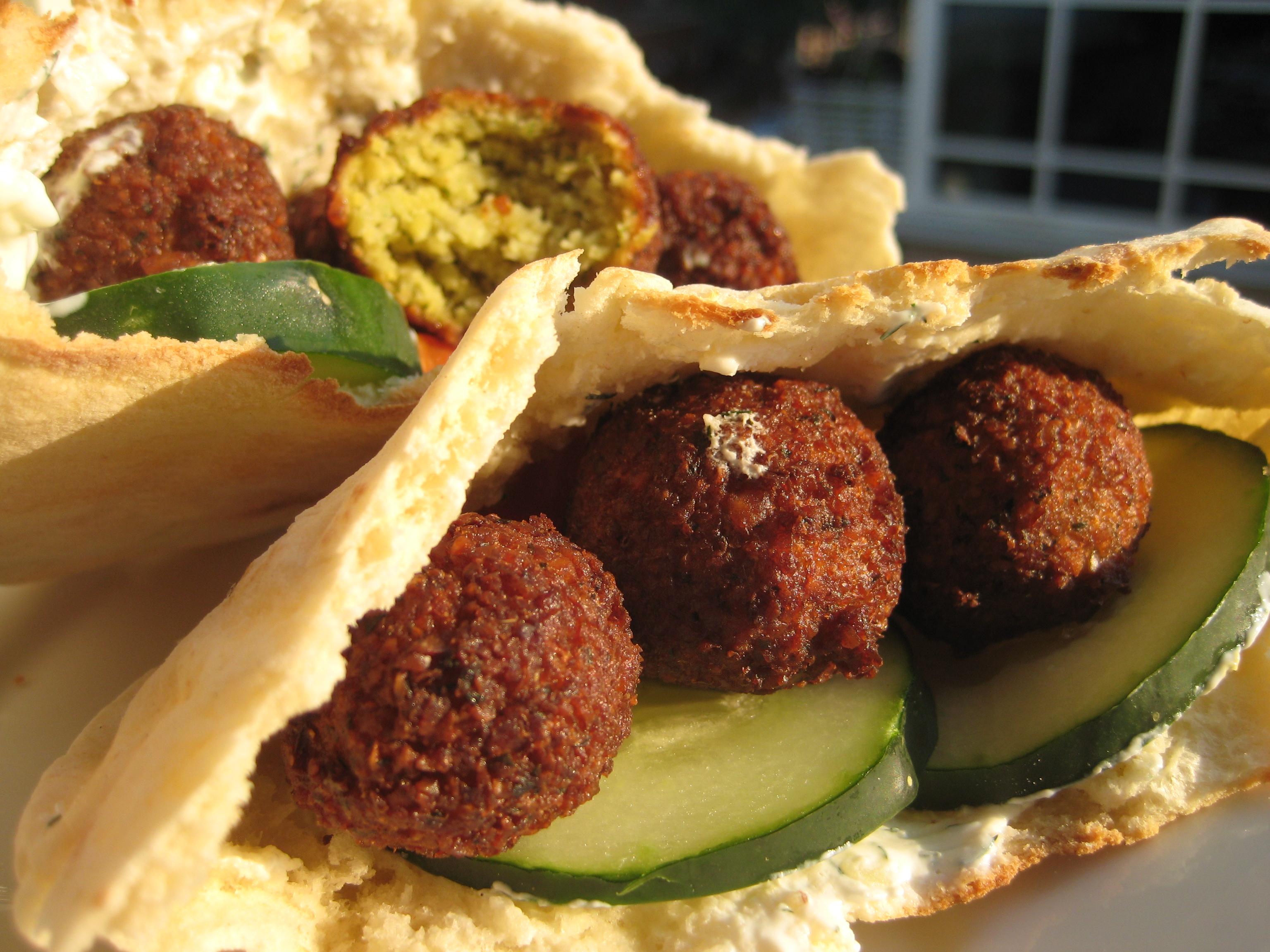and cucumber sauce sean s falafel and cucumber i used sean s falafel ...