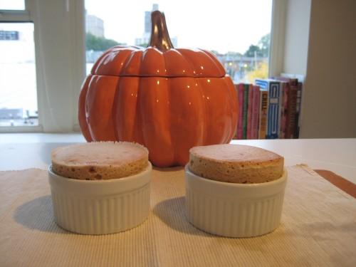 Pumpkin Ginger Souffle