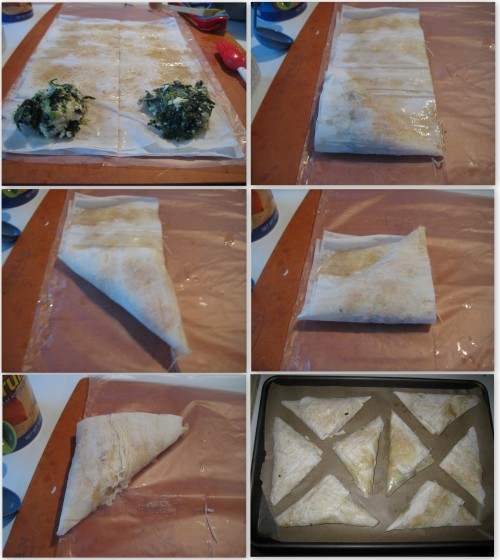Spanakopita Collage