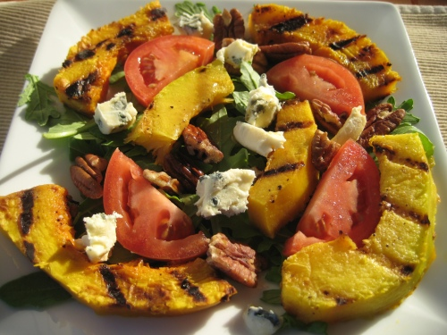 Grilled Pumpkin Salad
