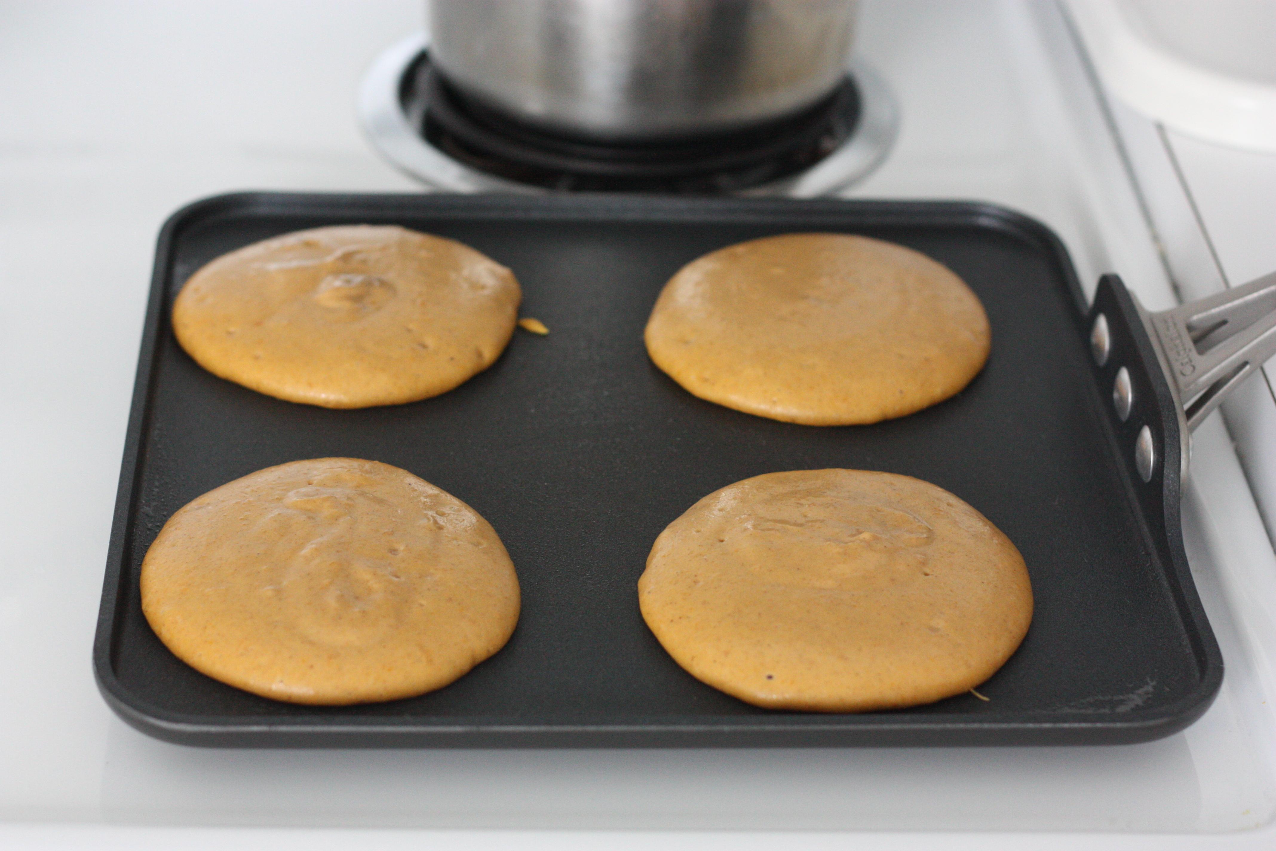 Butternut Squash Pancakes |
