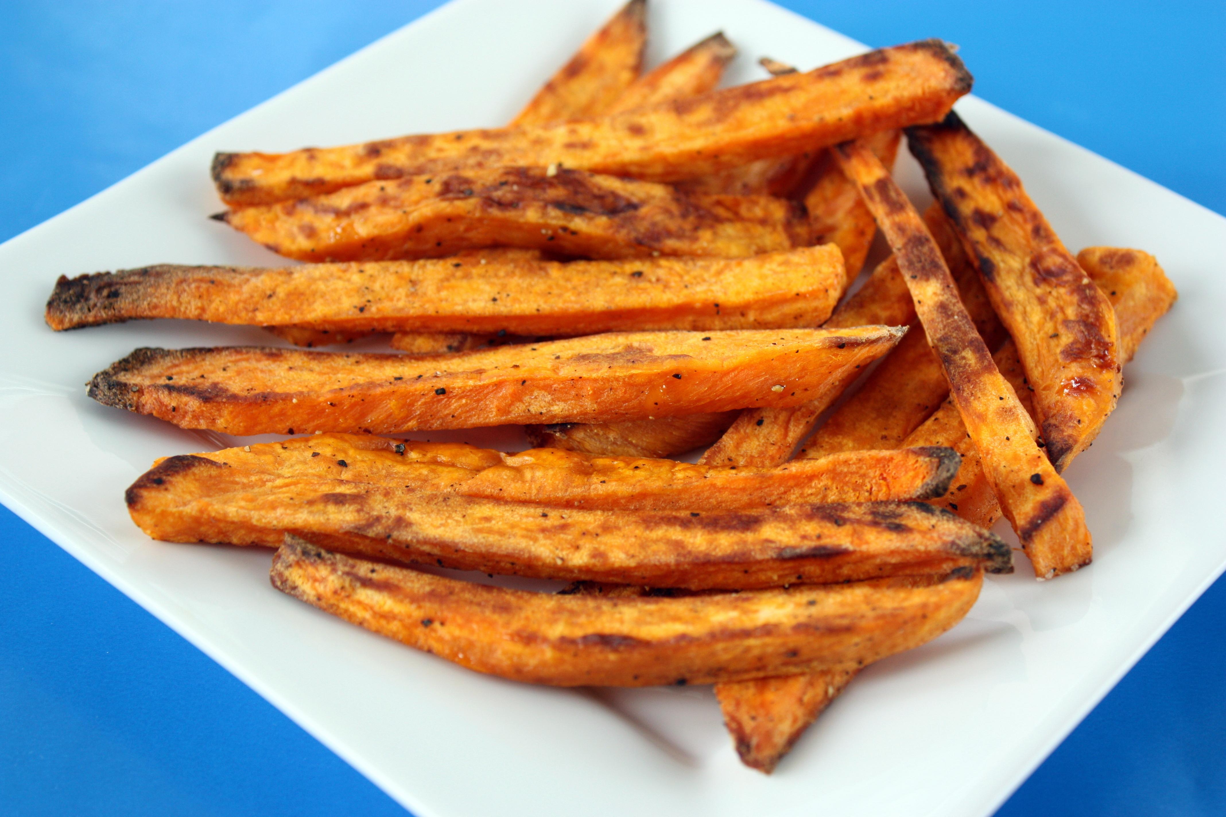 Simple Roasted Sweet Potato Fries