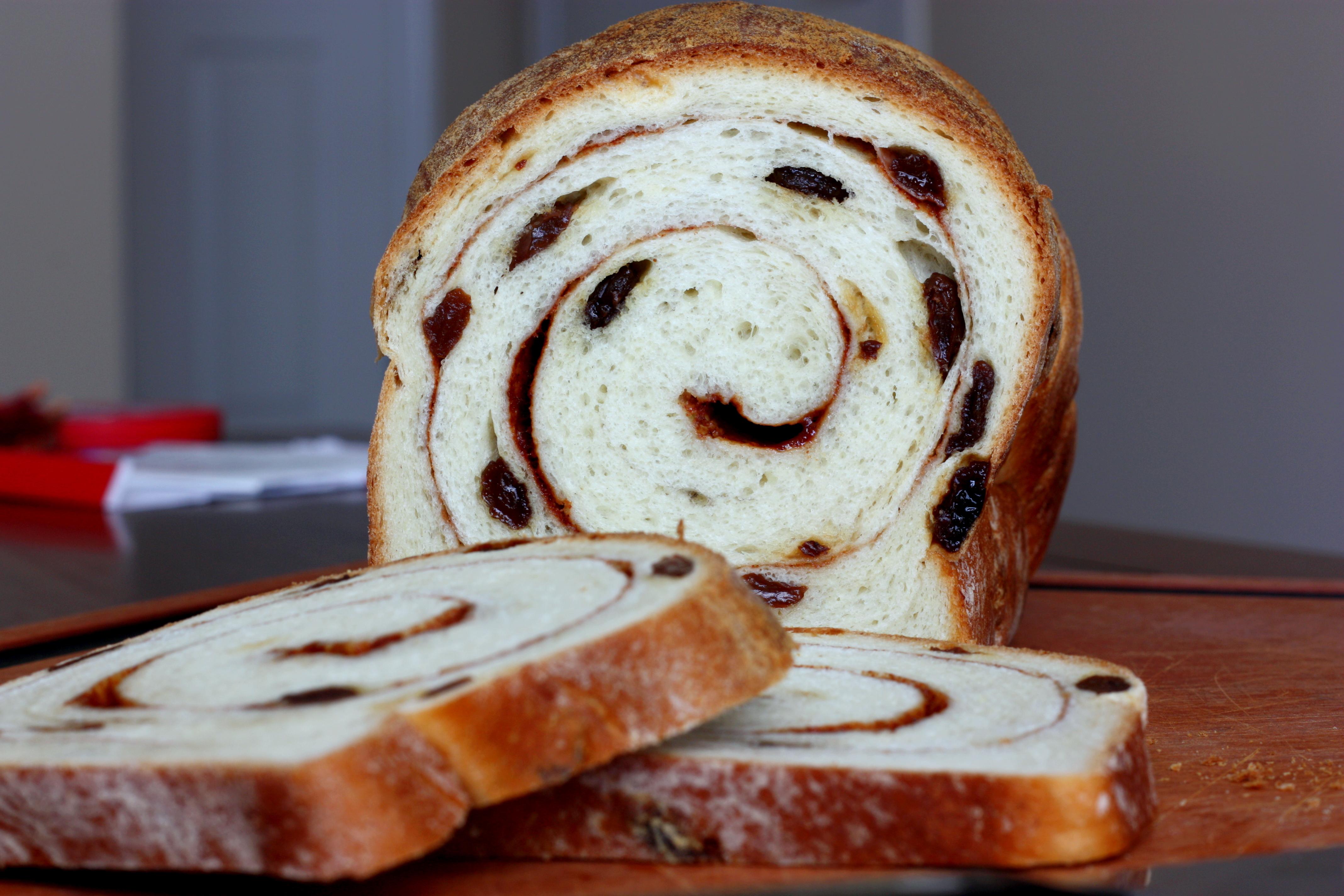 Cinnamon Raisin Swirl Bread |