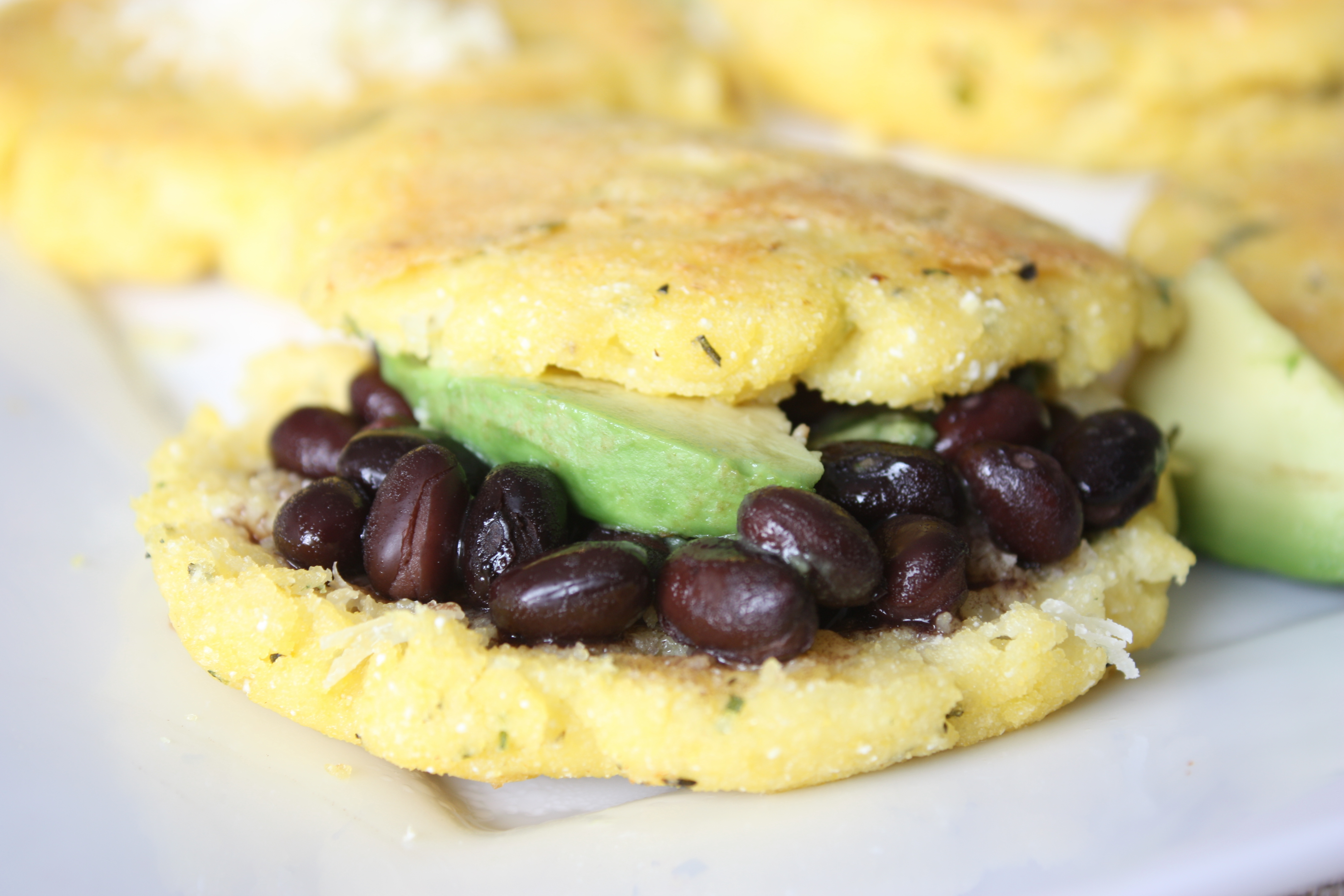 Arepas (ah-RAY-pahs) are half-inch thick corn cakes that are an ...