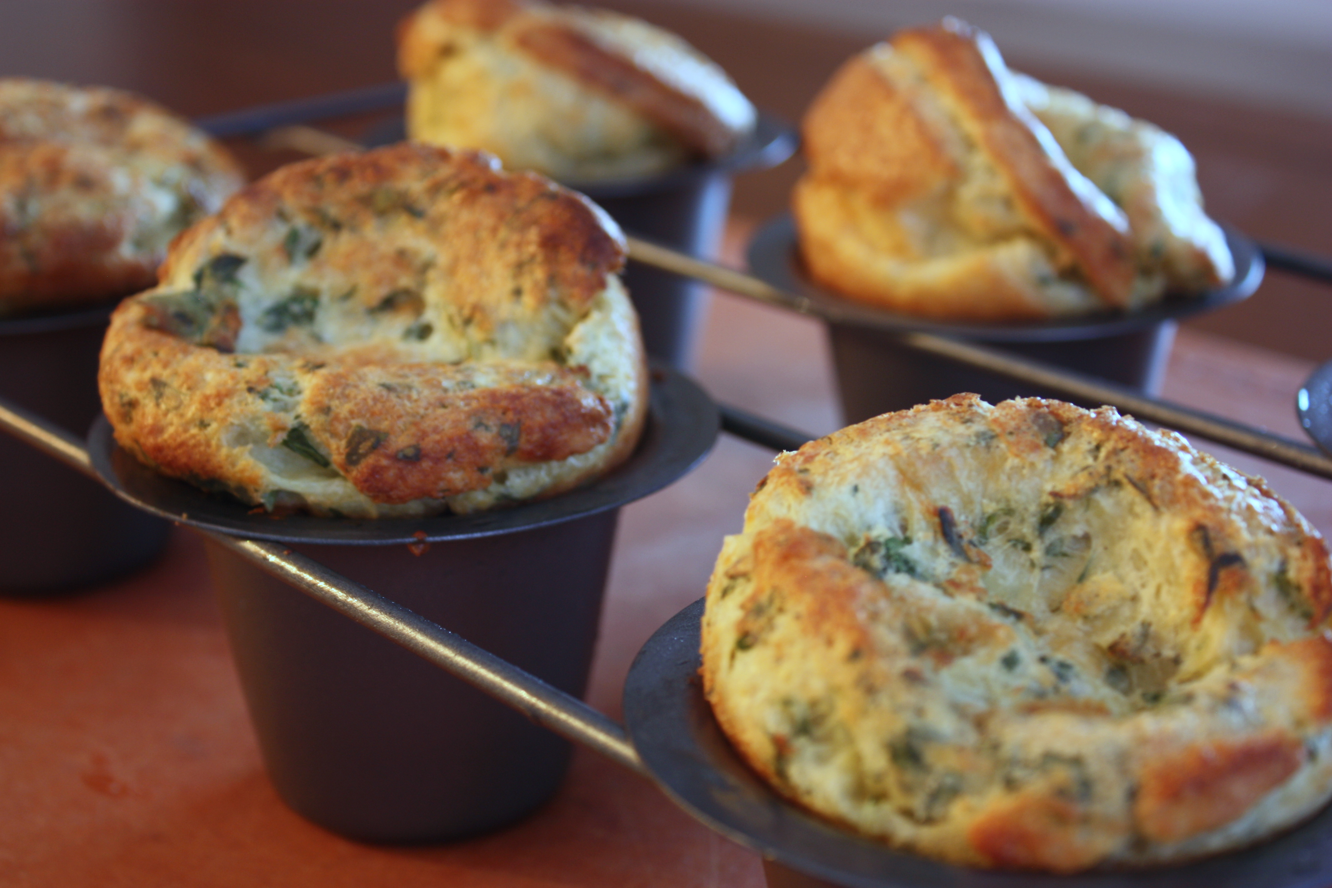 Herb and Cheese Popovers |