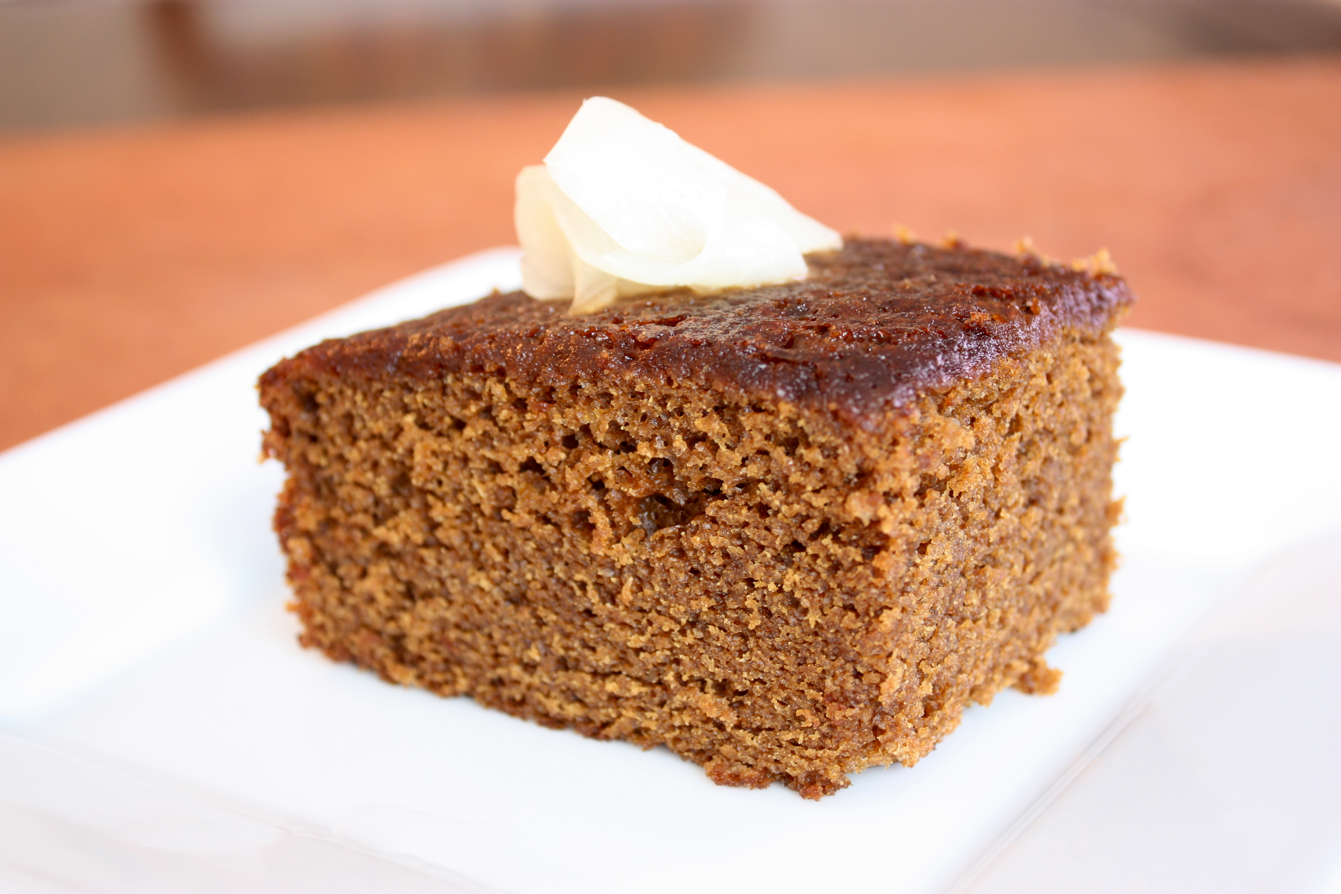 Dark Ginger Cake