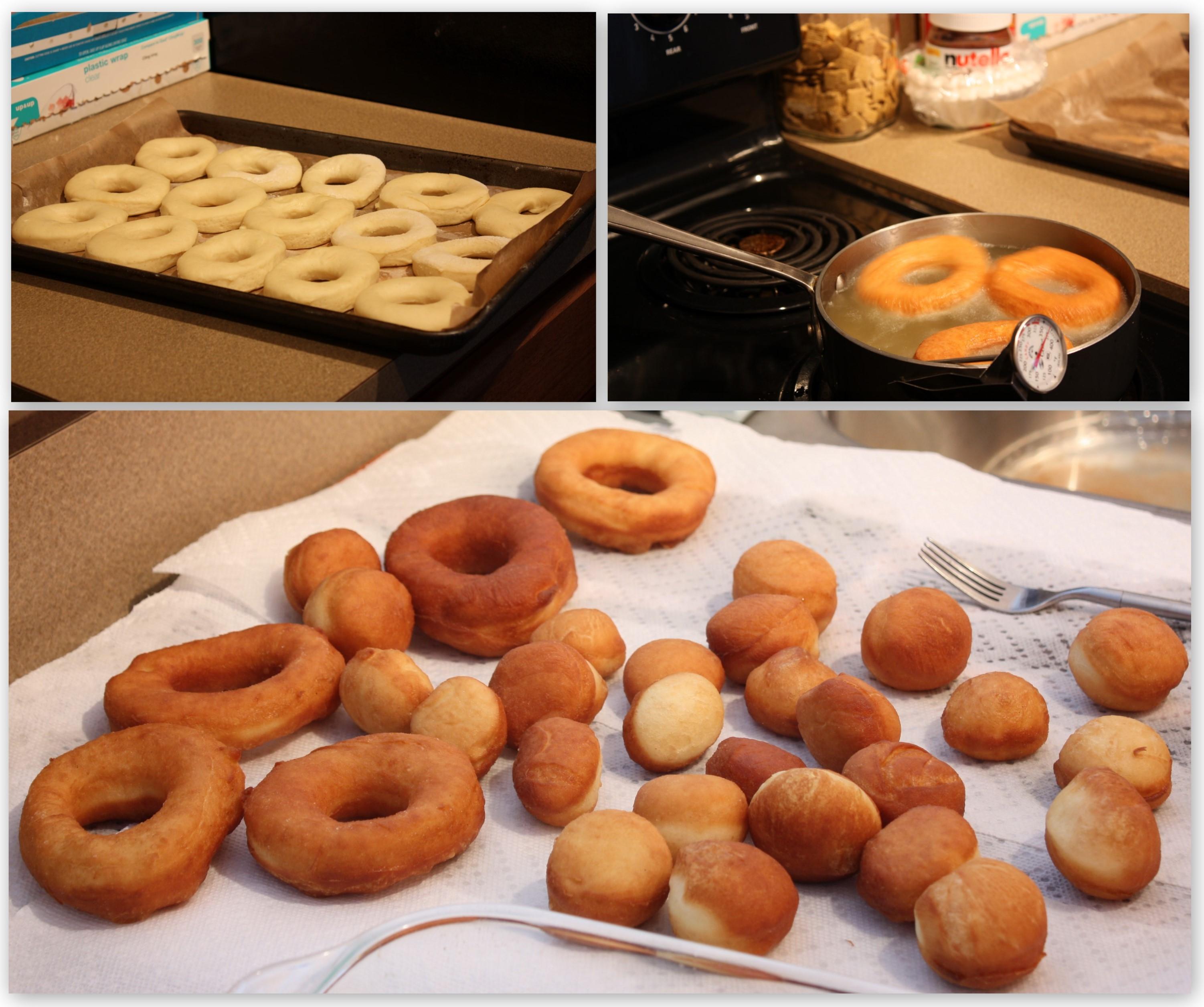 Homemade Yeast Doughnuts Recipe — Dishmaps