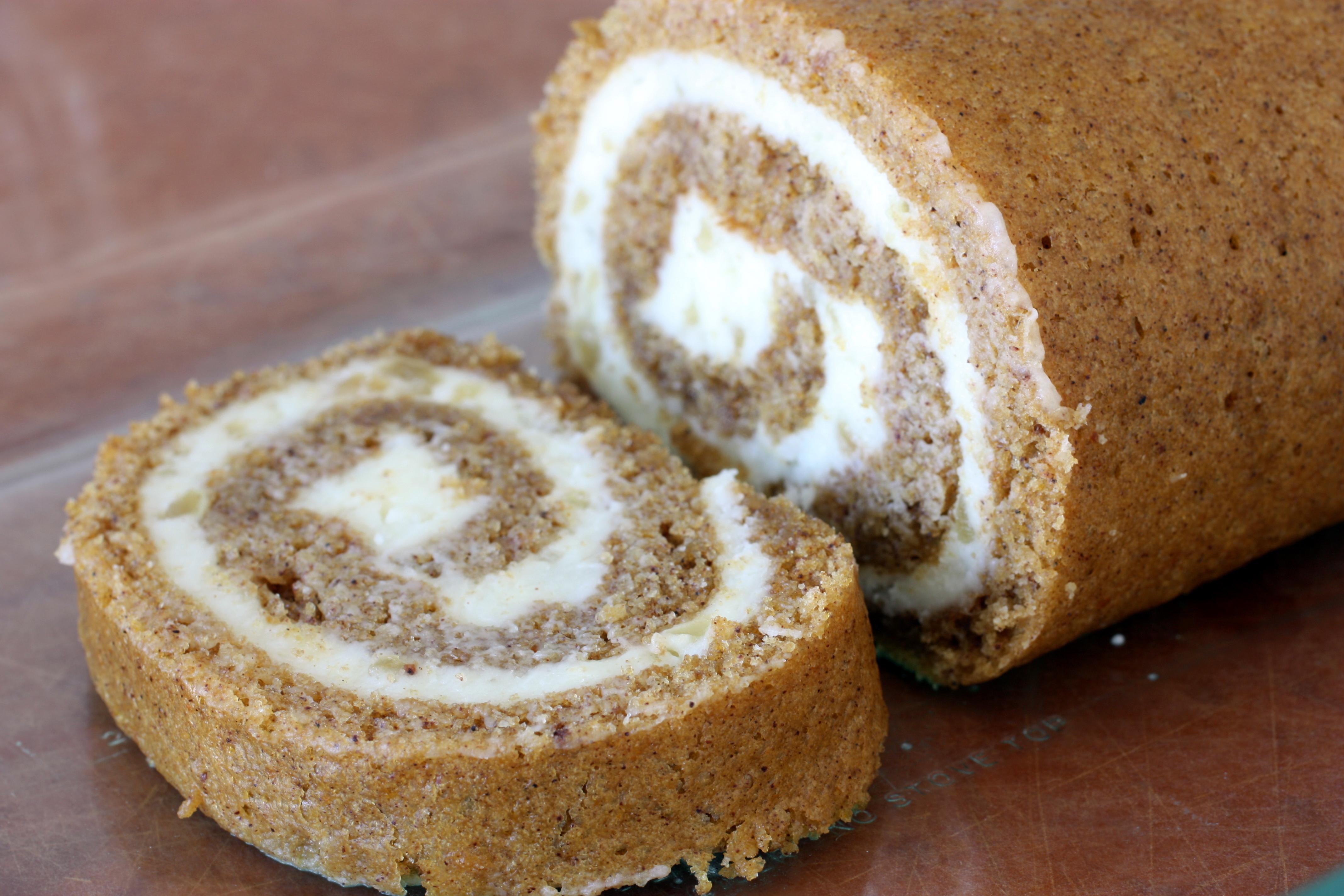 Pumpkin Roulade Cake Recipe