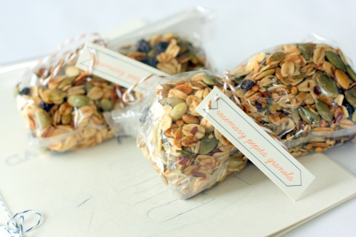 Wrapped Granola
