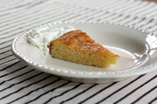 Magically Moist Almond Cake